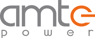 The AMTE power logo